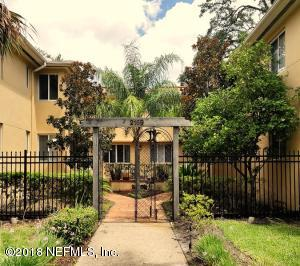 PRETTY CONDO ENTRANCE SET BACK FROM STREET. YOU CAN PARK ON STREET IN FRONT OR IN THE BACK IN YOUR COVERED SPOT