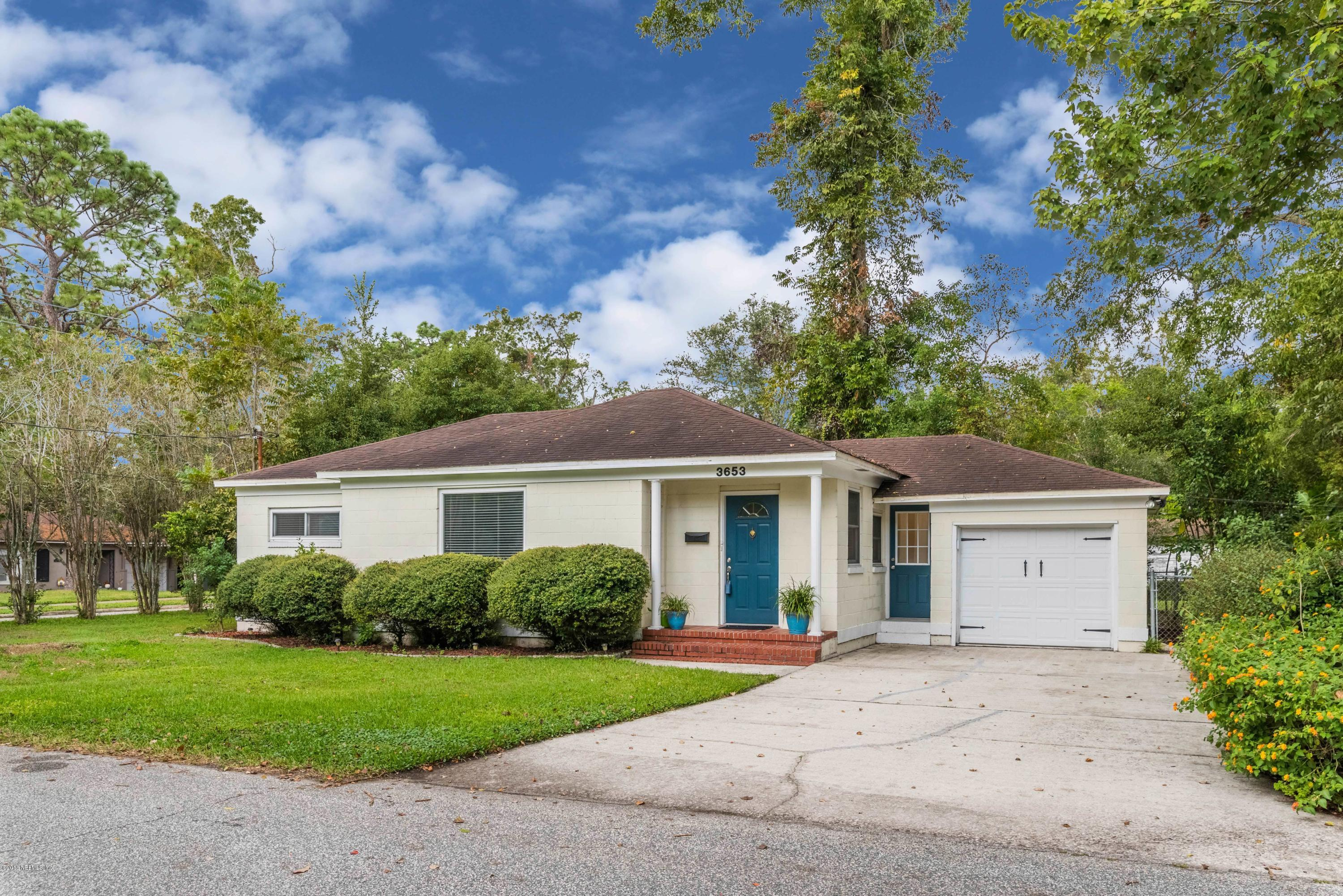 3653 HOLLINGSWORTH, JACKSONVILLE, FLORIDA 32205, 2 Bedrooms Bedrooms, ,1 BathroomBathrooms,Residential - single family,For sale,HOLLINGSWORTH,956003