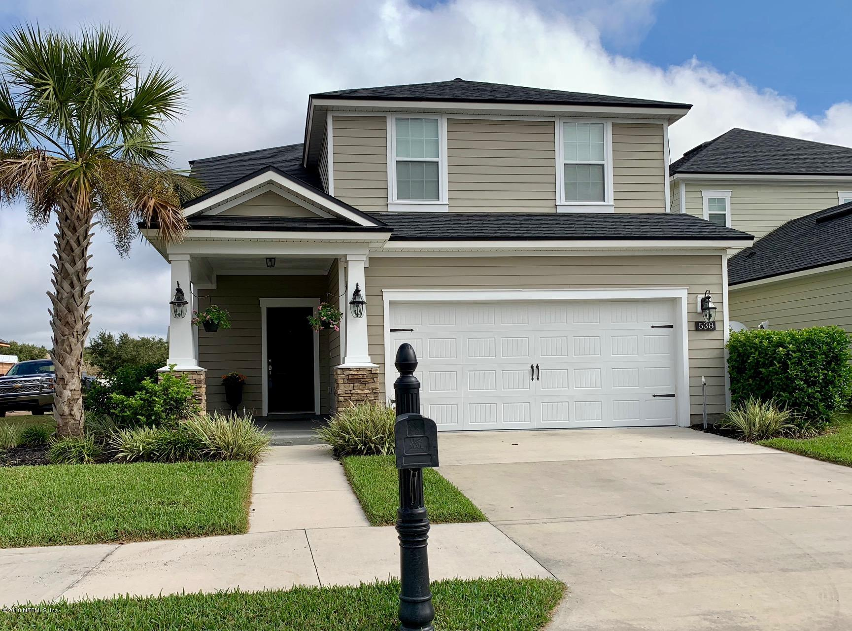 538 MELDRUM, ORANGE PARK, FLORIDA 32065, 3 Bedrooms Bedrooms, ,2 BathroomsBathrooms,Residential - single family,For sale,MELDRUM,966317
