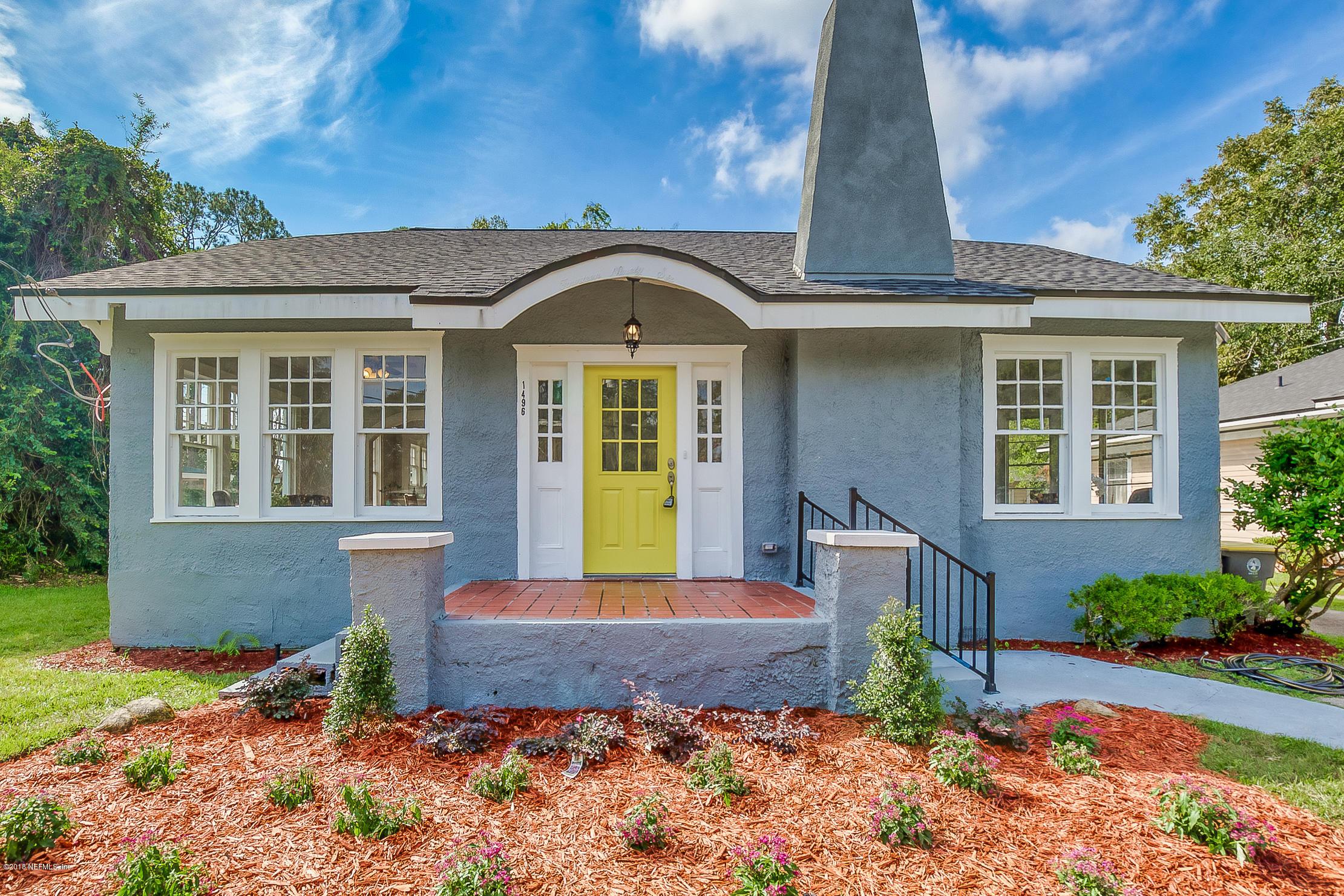 1496 CHALLEN, JACKSONVILLE, FLORIDA 32205, 4 Bedrooms Bedrooms, ,2 BathroomsBathrooms,Residential - single family,For sale,CHALLEN,966448