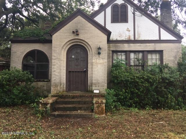 3944 PARK, JACKSONVILLE, FLORIDA 32205, 3 Bedrooms Bedrooms, ,1 BathroomBathrooms,Residential - single family,For sale,PARK,966542
