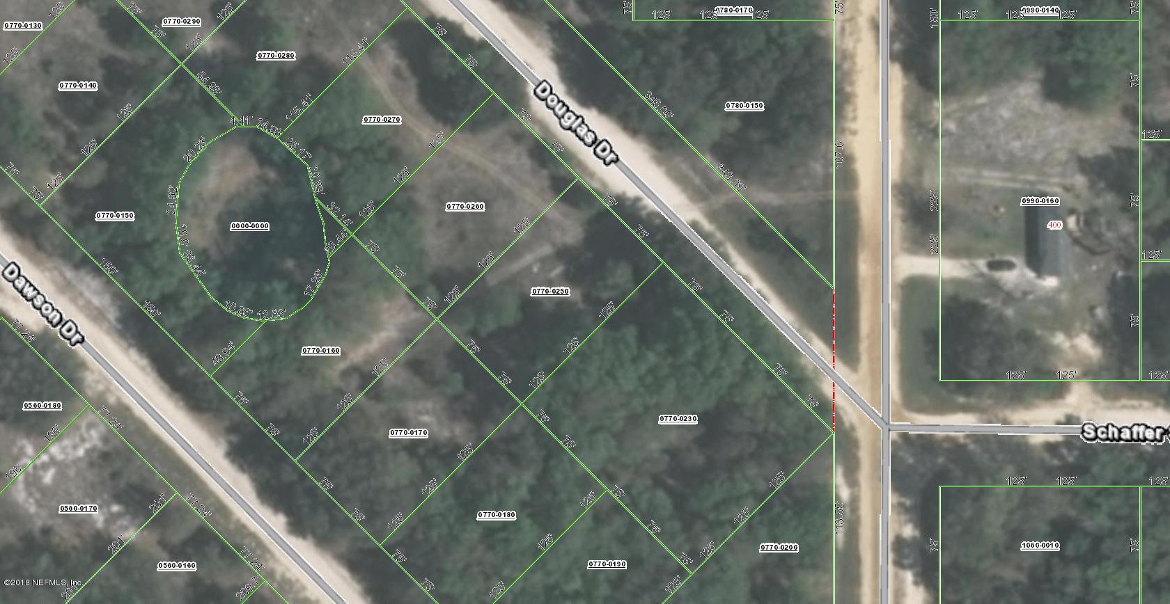 00 DOUGLAS, INTERLACHEN, FLORIDA 32148, ,Vacant land,For sale,DOUGLAS,966551