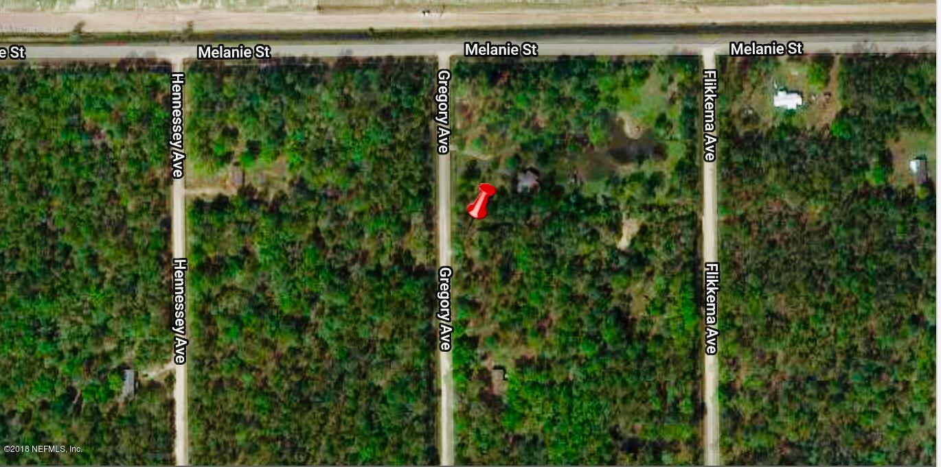 10020 GREGORY, HASTINGS, FLORIDA 32145, ,Vacant land,For sale,GREGORY,966597