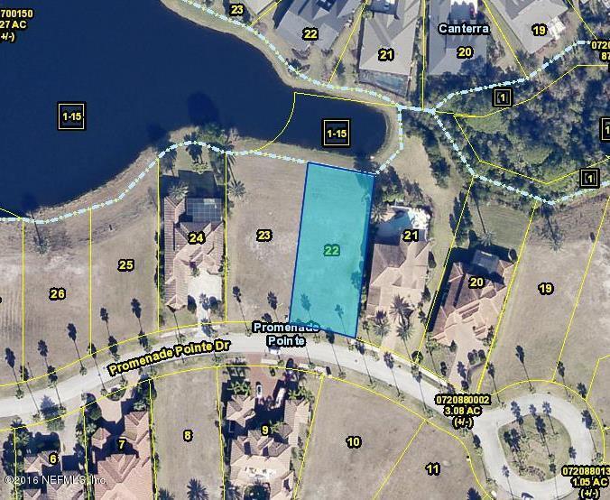 739 PROMENADE POINTE, ST AUGUSTINE, FLORIDA 32095, ,Vacant land,For sale,PROMENADE POINTE,966698