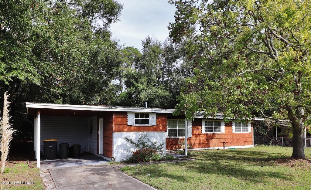 6843 BIDDY, JACKSONVILLE, FLORIDA 32210, 4 Bedrooms Bedrooms, ,2 BathroomsBathrooms,Residential - single family,For sale,BIDDY,966705