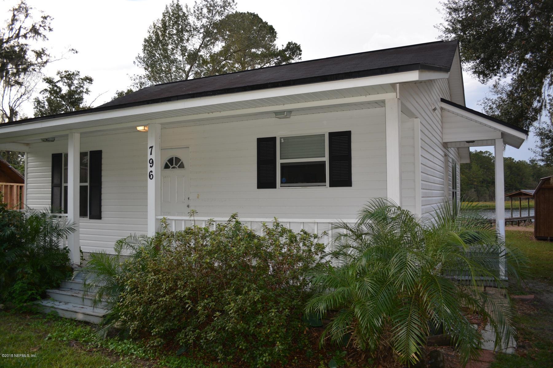 796 LAKE SHORE, INTERLACHEN, FLORIDA 32148, 2 Bedrooms Bedrooms, ,1 BathroomBathrooms,Residential - single family,For sale,LAKE SHORE,966711