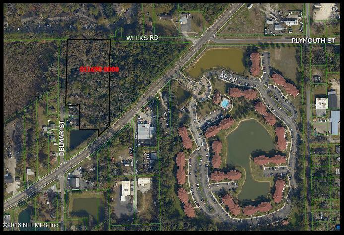 0 DELMAR, JACKSONVILLE, FLORIDA 32205, ,Vacant land,For sale,DELMAR,966718