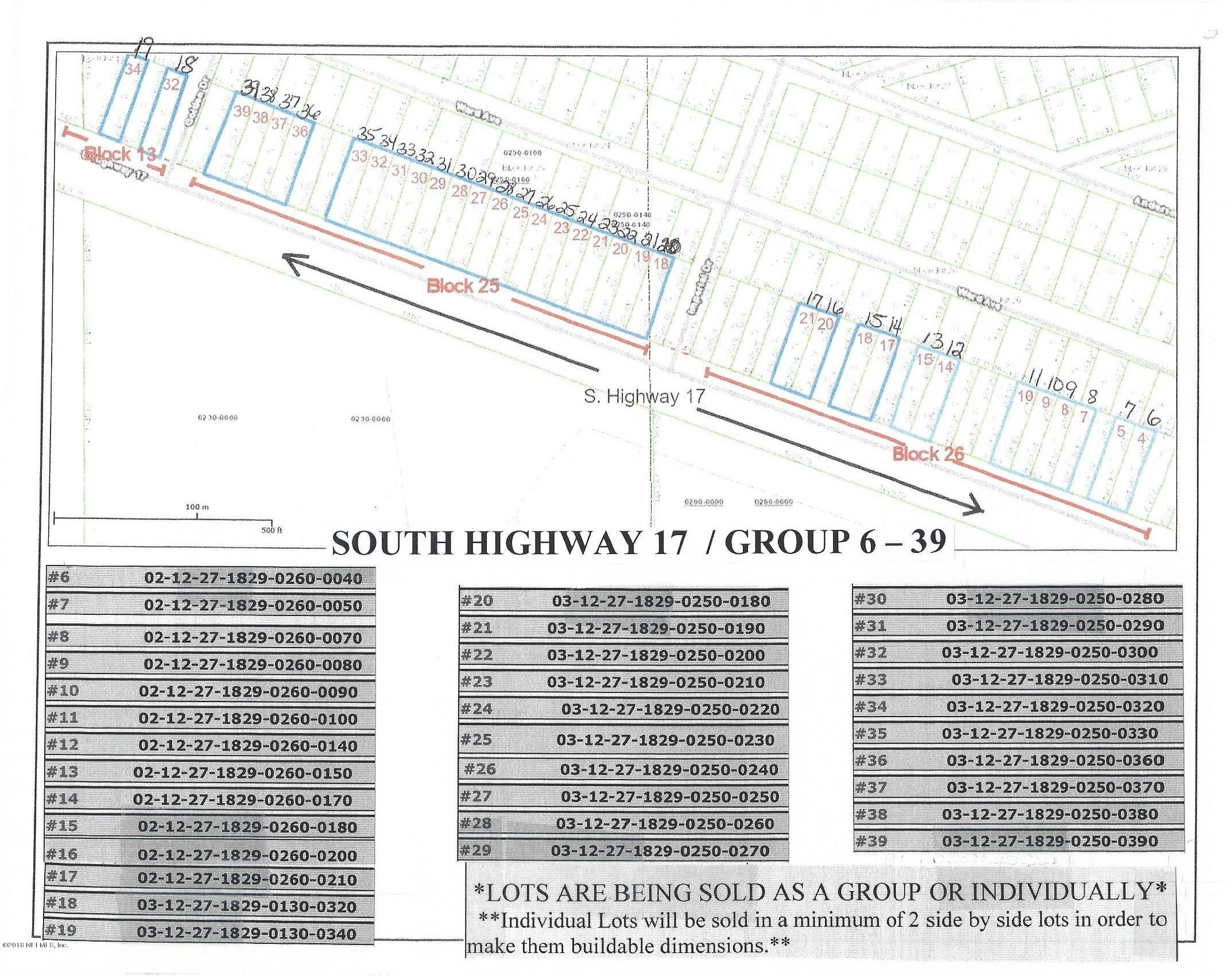 0 HIGHWAY 17, CRESCENT CITY, FLORIDA 32112, ,Vacant land,For sale,HIGHWAY 17,967493
