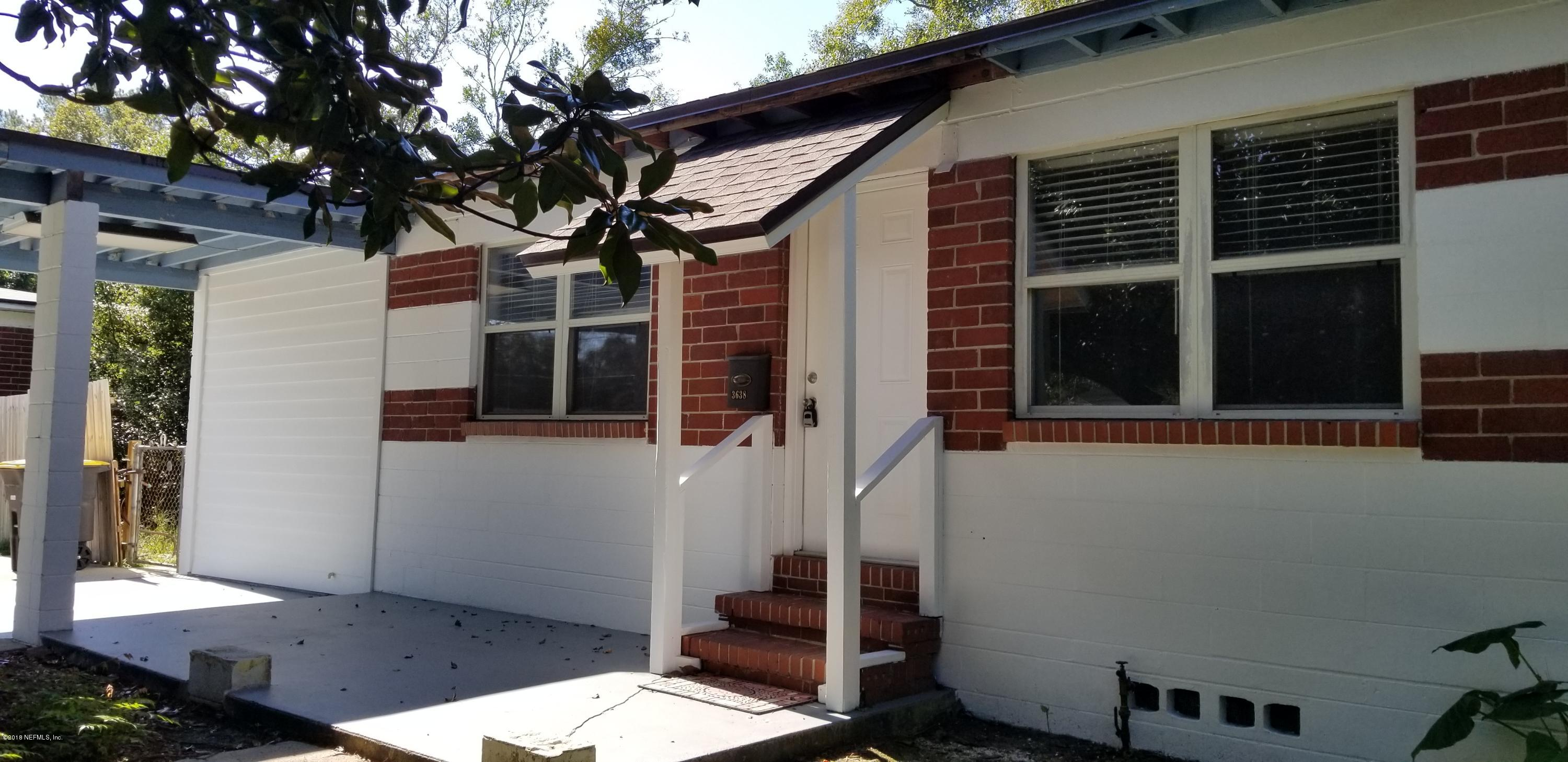 3638 JAMMES, JACKSONVILLE, FLORIDA 32210, 3 Bedrooms Bedrooms, ,1 BathroomBathrooms,Residential - single family,For sale,JAMMES,967444