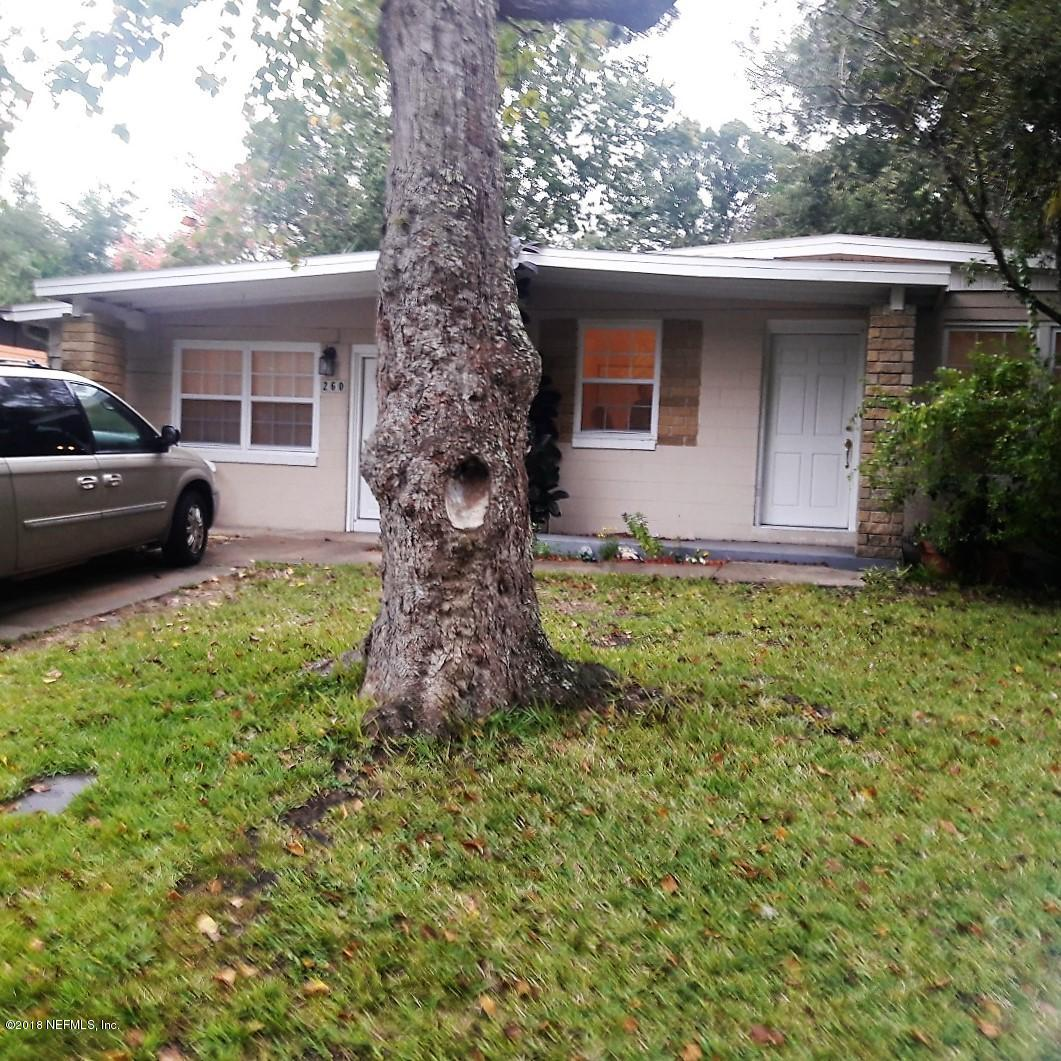 260 SPRING, ST AUGUSTINE, FLORIDA 32084, 3 Bedrooms Bedrooms, ,1 BathroomBathrooms,Residential - single family,For sale,SPRING,967671
