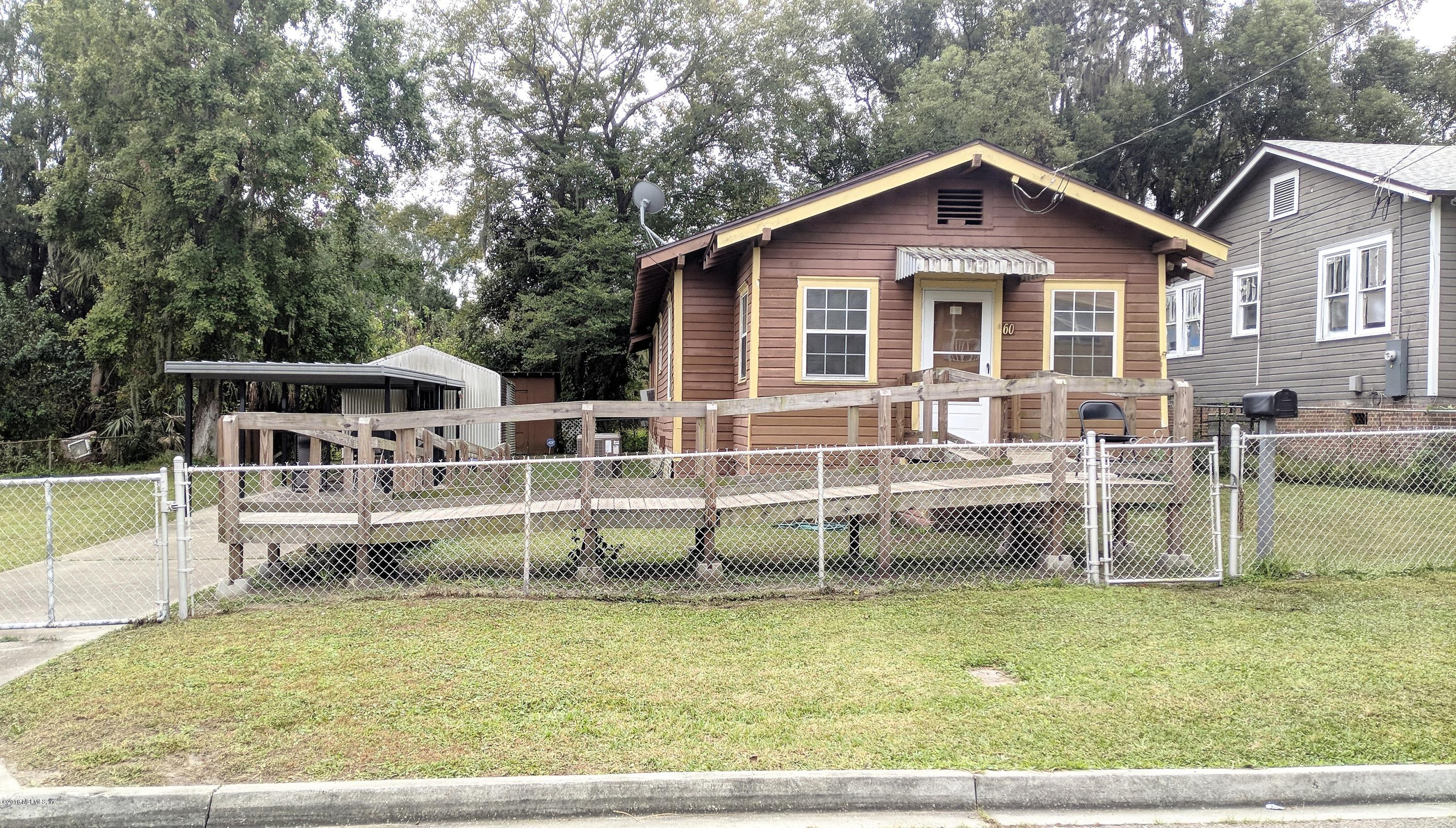 60 32ND, JACKSONVILLE, FLORIDA 32206, 2 Bedrooms Bedrooms, ,1 BathroomBathrooms,Commercial,For sale,32ND,967742