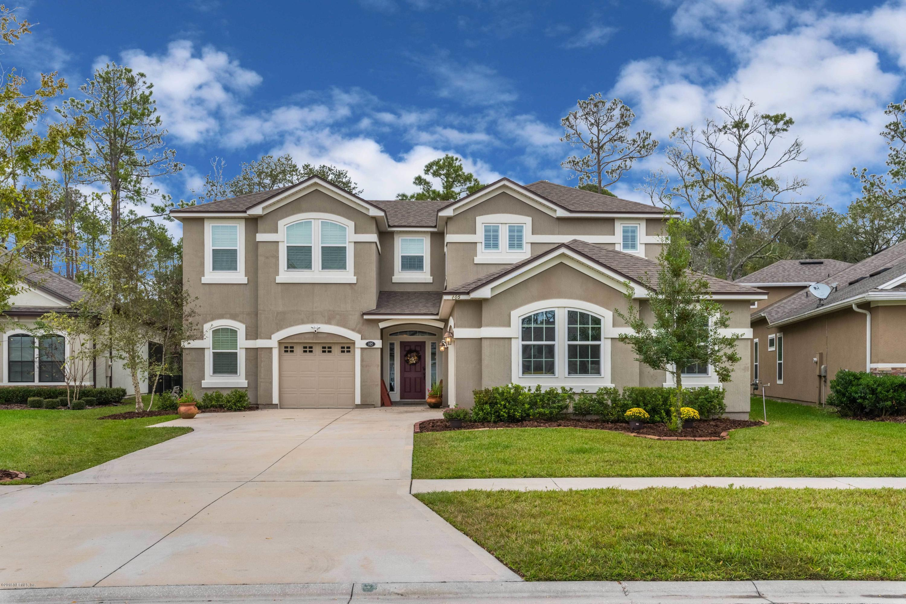 105 STONY FORD, PONTE VEDRA, FLORIDA 32081, 4 Bedrooms Bedrooms, ,3 BathroomsBathrooms,Residential - single family,For sale,STONY FORD,967775