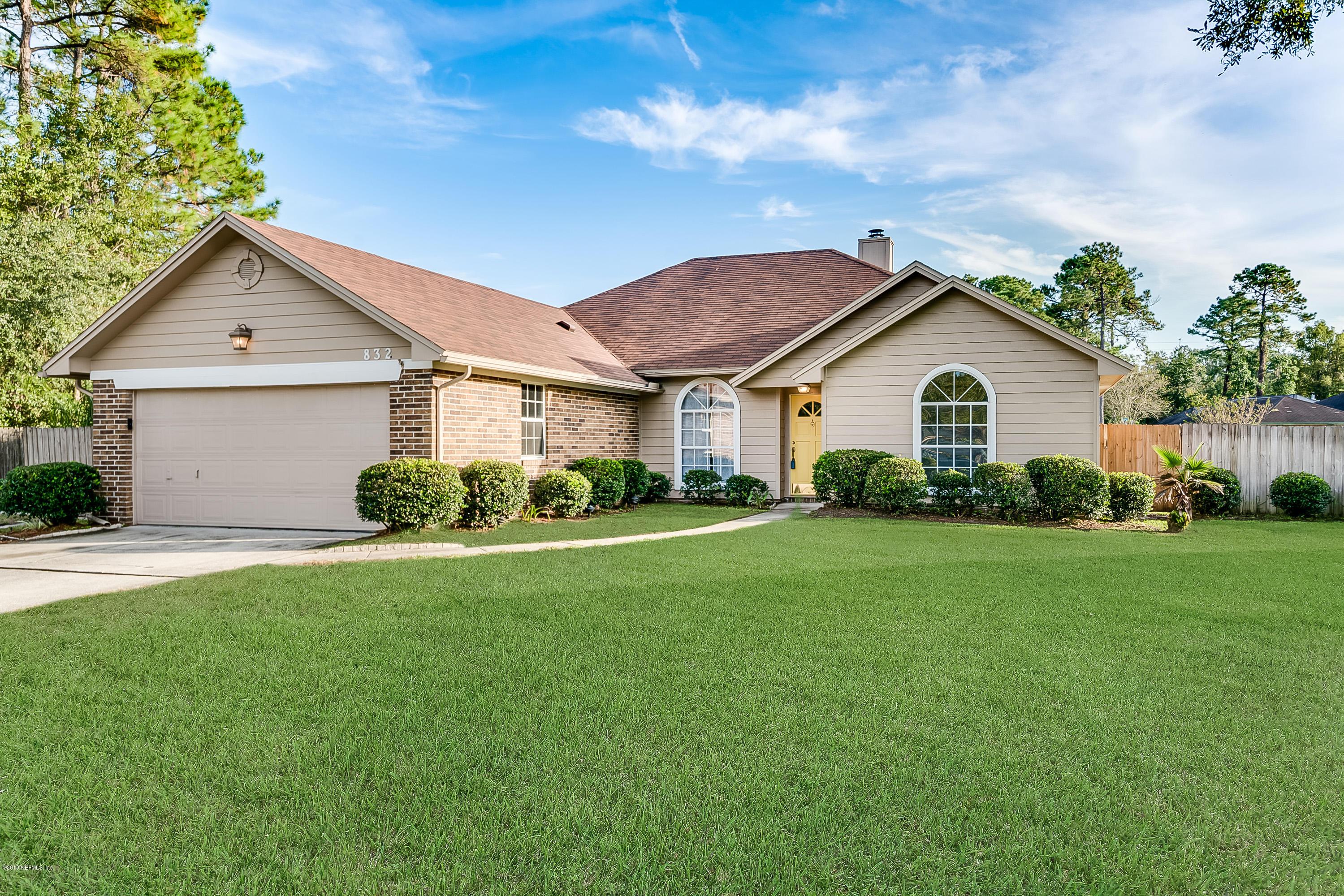 832 WICKLOW, ORANGE PARK, FLORIDA 32065, 4 Bedrooms Bedrooms, ,2 BathroomsBathrooms,Residential - single family,For sale,WICKLOW,968481