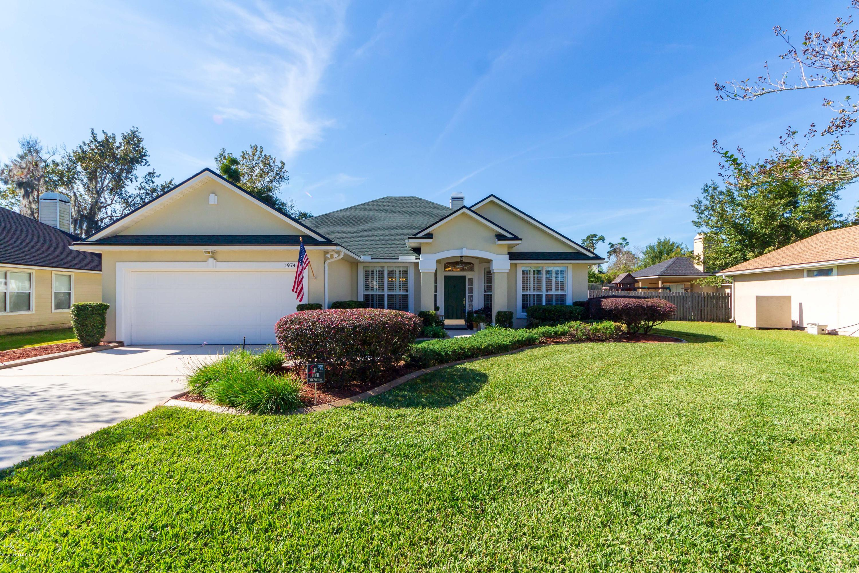 1974 PROTECTION, ORANGE PARK, FLORIDA 32003, 4 Bedrooms Bedrooms, ,3 BathroomsBathrooms,Residential - single family,For sale,PROTECTION,968147