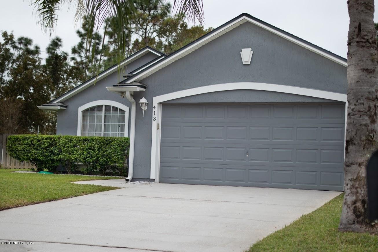 413 CORKLAN, JACKSONVILLE, FLORIDA 32259, 3 Bedrooms Bedrooms, ,2 BathroomsBathrooms,Residential - single family,For sale,CORKLAN,968633