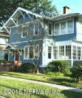 Avondale Property Photo of 1853 Powell Pl, Jacksonville, Fl 32205 - MLS# 951552
