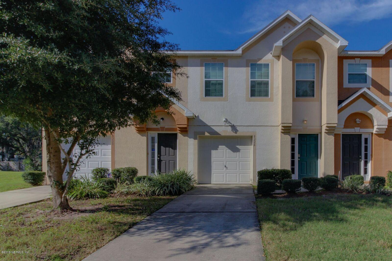 8226 HALLS HAMMOCK, JACKSONVILLE, FLORIDA 32244, 3 Bedrooms Bedrooms, ,2 BathroomsBathrooms,Residential - townhome,For sale,HALLS HAMMOCK,970087
