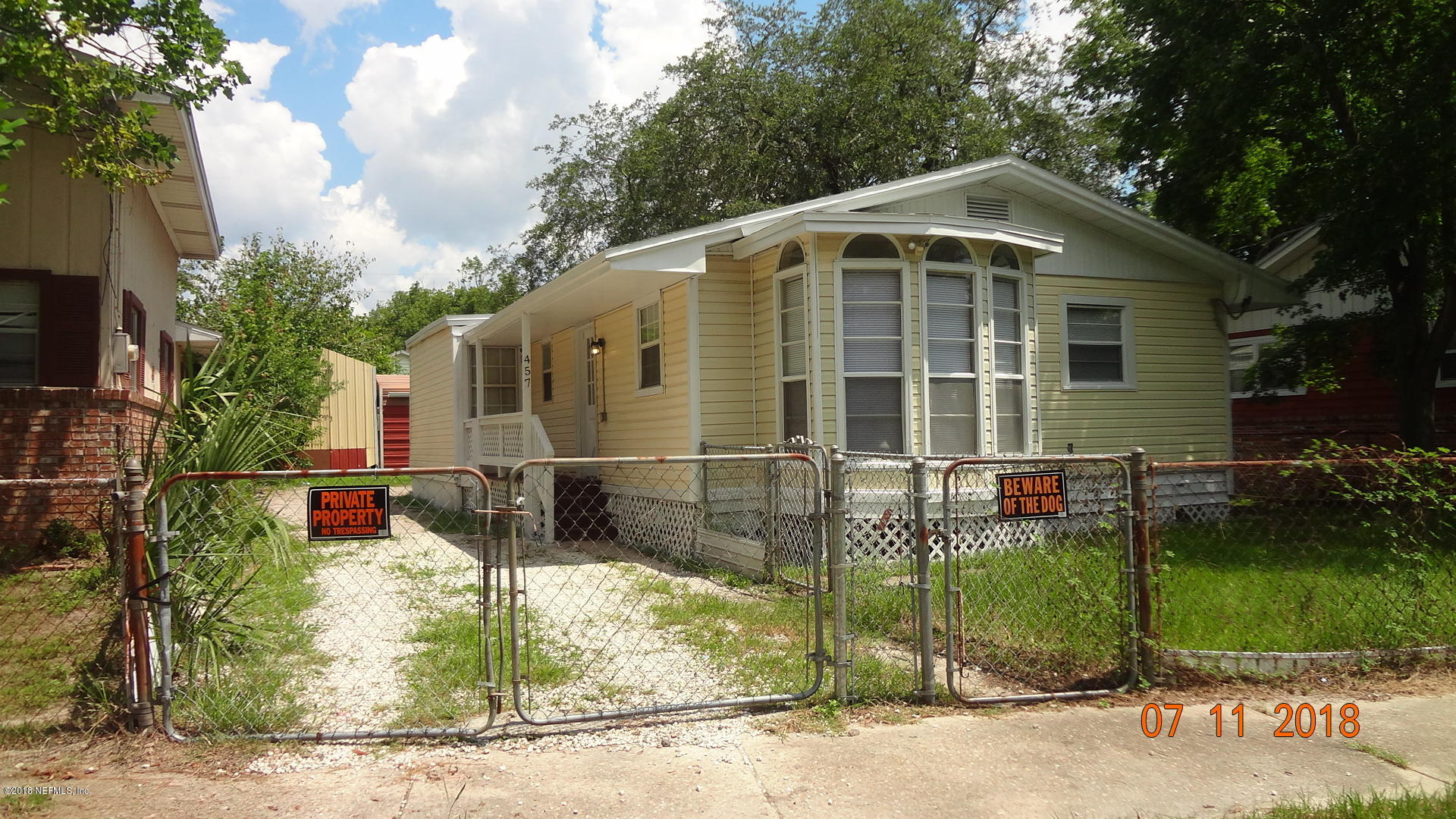 457 45TH, JACKSONVILLE, FLORIDA 32208, 2 Bedrooms Bedrooms, ,1 BathroomBathrooms,Residential - single family,For sale,45TH,970080