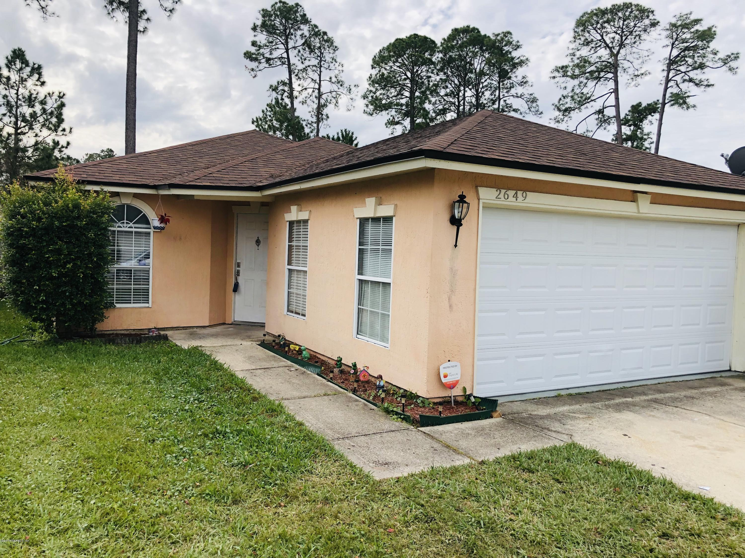 2649 SAM HOUSTON, JACKSONVILLE, FLORIDA 32246, 3 Bedrooms Bedrooms, ,2 BathroomsBathrooms,Residential - single family,For sale,SAM HOUSTON,970095