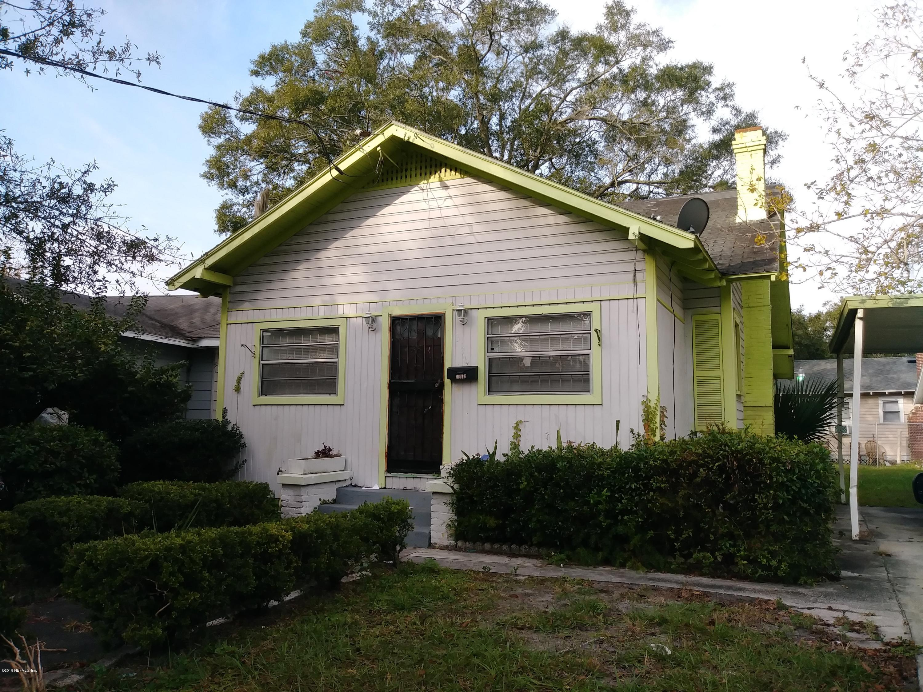 3416 BOULEVARD, JACKSONVILLE, FLORIDA 32206, 3 Bedrooms Bedrooms, ,1 BathroomBathrooms,Residential - single family,For sale,BOULEVARD,970098