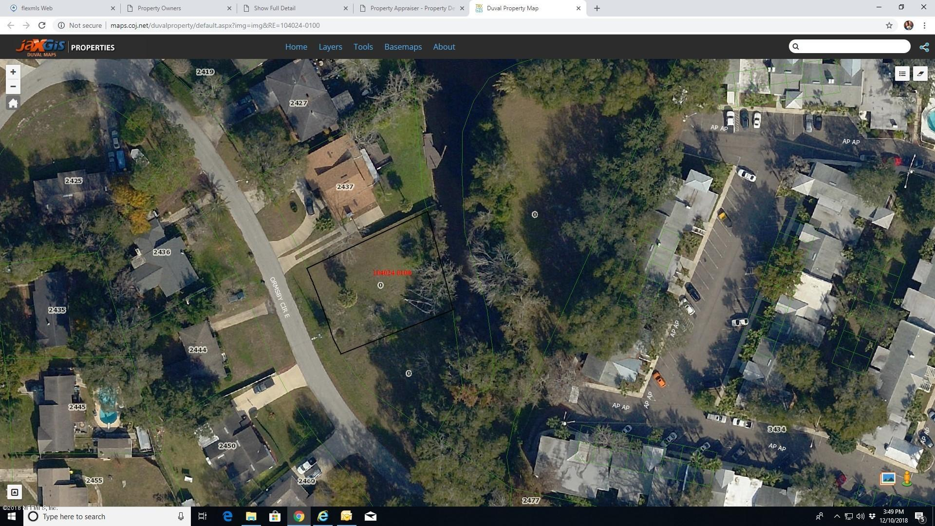0 ORMSBY, JACKSONVILLE, FLORIDA 32210, ,Vacant land,For sale,ORMSBY,970252