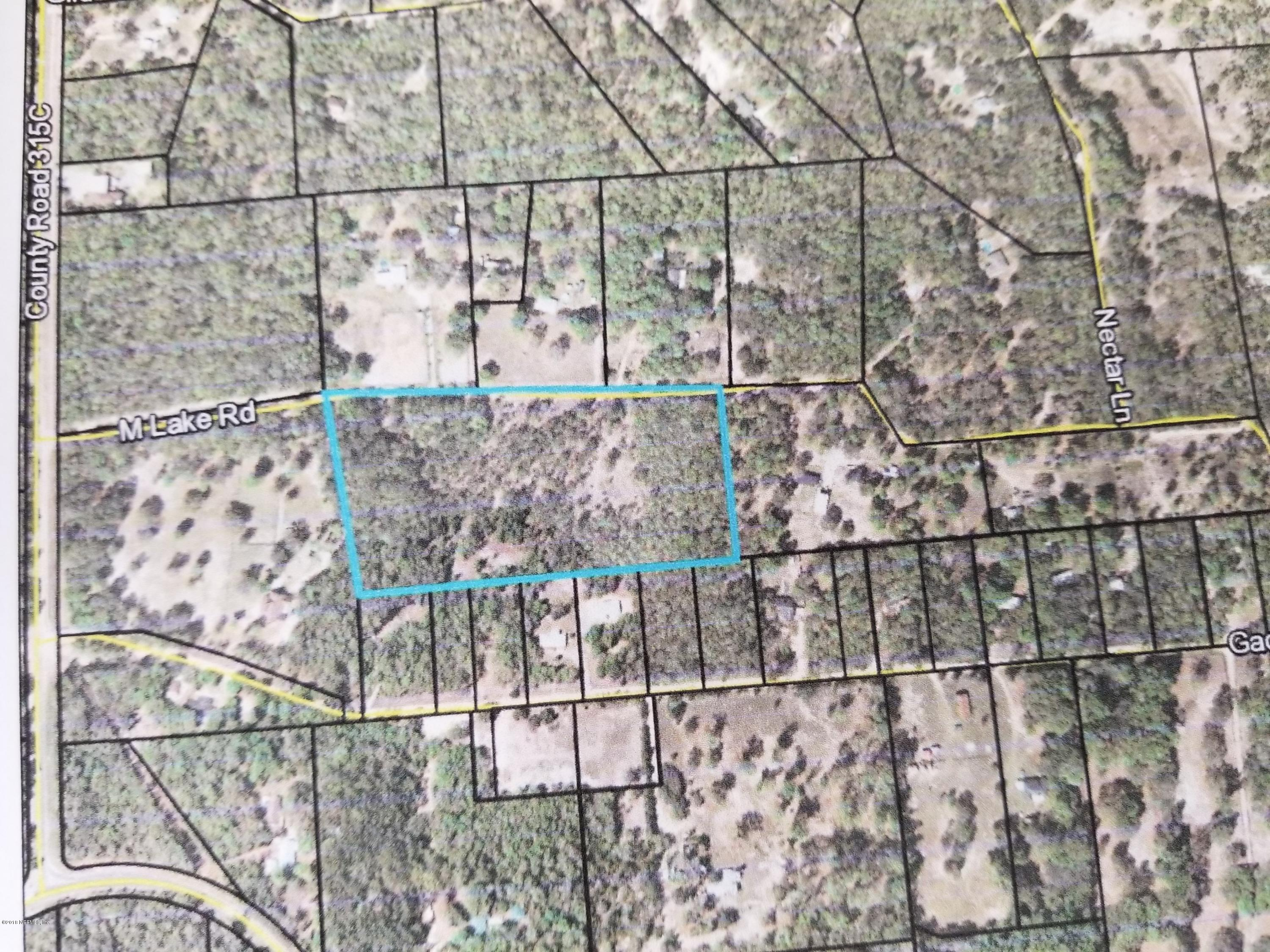 0000 M LAKE ROAD, KEYSTONE HEIGHTS, FLORIDA 32656, ,Vacant land,For sale,M LAKE ROAD,970427