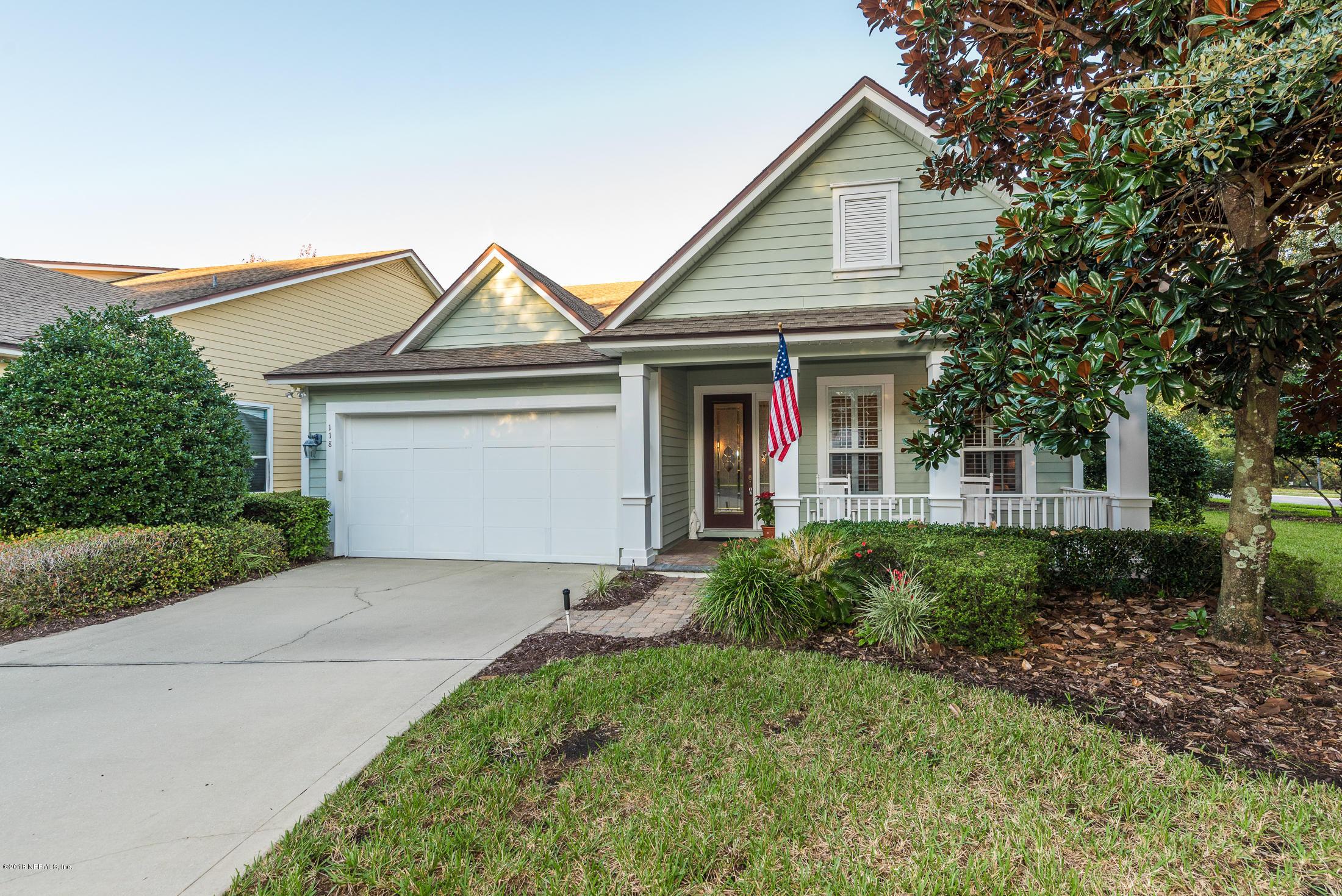 118 VILLAGE, ST AUGUSTINE, FLORIDA 32095, 3 Bedrooms Bedrooms, ,2 BathroomsBathrooms,Residential - single family,For sale,VILLAGE,970543