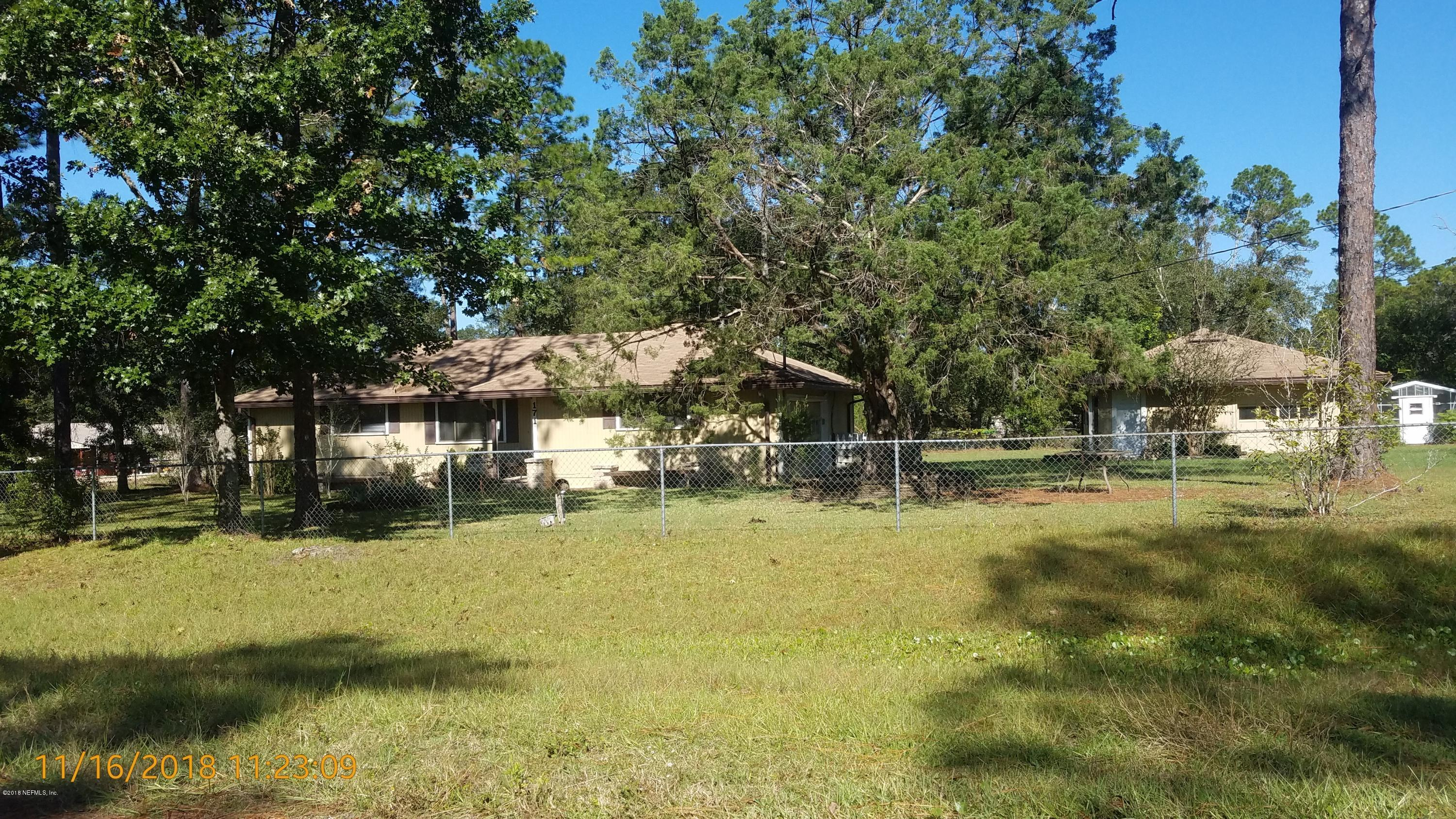 171 ORCHID, MIDDLEBURG, FLORIDA 32068, 2 Bedrooms Bedrooms, ,1 BathroomBathrooms,Residential - single family,For sale,ORCHID,970589