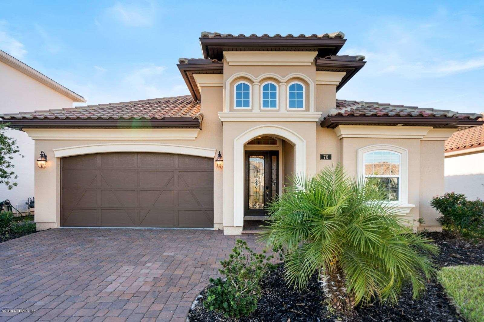 70 PIENZA, PONTE VEDRA, FLORIDA 32081, 4 Bedrooms Bedrooms, ,3 BathroomsBathrooms,Residential - single family,For sale,PIENZA,971071
