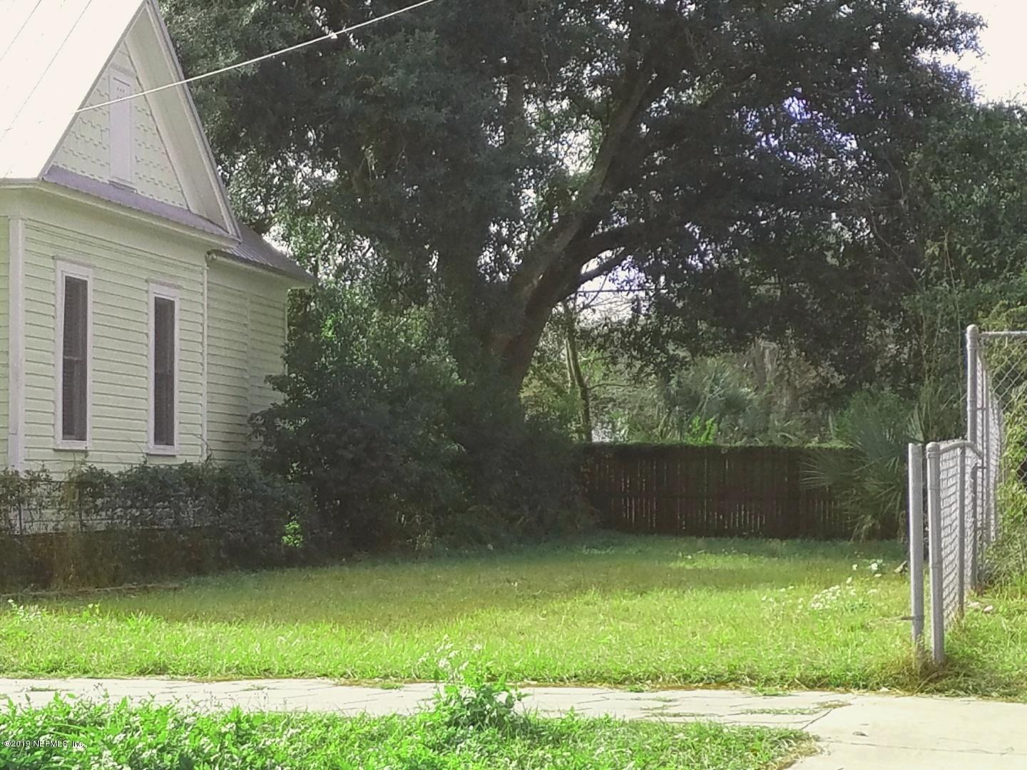 1828 HUBBARD, JACKSONVILLE, FLORIDA 32206, ,Vacant land,For sale,HUBBARD,974078