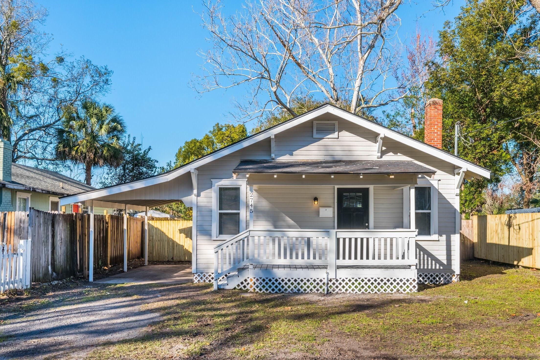 2745 GILMORE, JACKSONVILLE, FLORIDA 32205, 2 Bedrooms Bedrooms, ,2 BathroomsBathrooms,Residential - single family,For sale,GILMORE,974134
