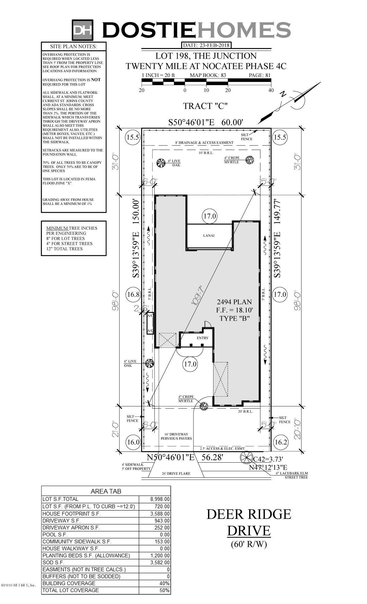 317 DEER RIDGE, PONTE VEDRA, FLORIDA 32081, 4 Bedrooms Bedrooms, ,3 BathroomsBathrooms,Residential - single family,For sale,DEER RIDGE,974468