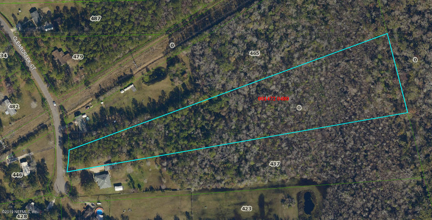 0 CLEARCREEK, JACKSONVILLE, FLORIDA 32220, ,Vacant land,For sale,CLEARCREEK,974931