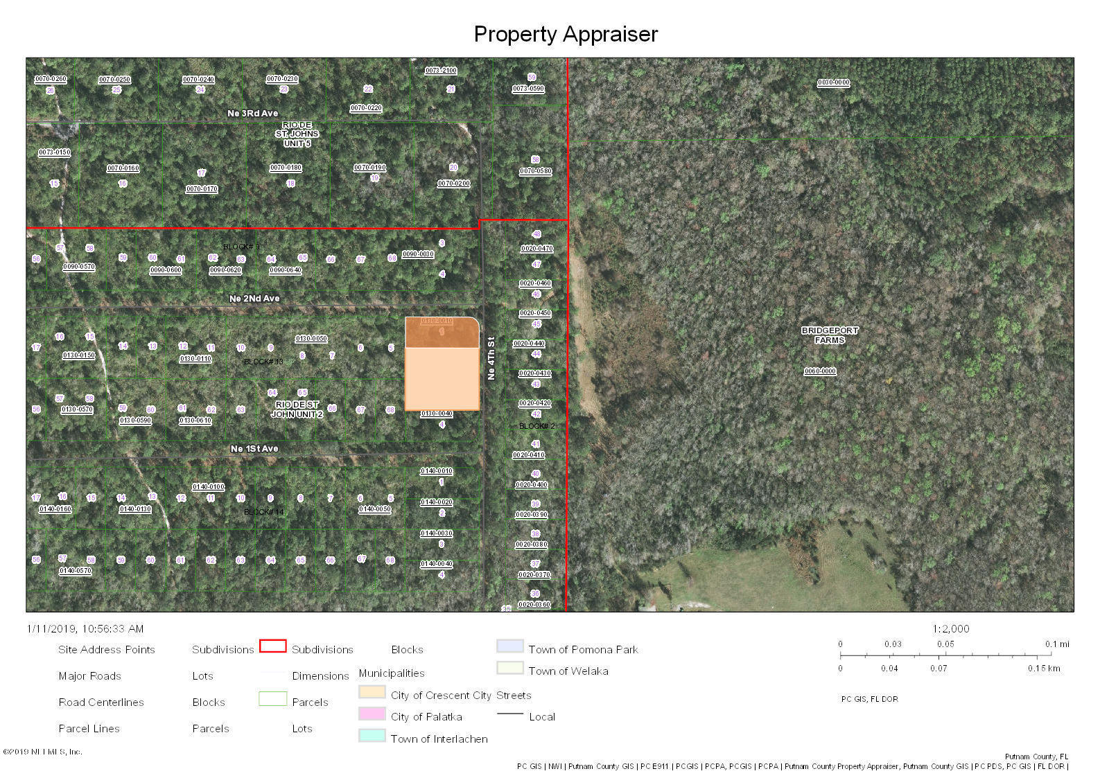 201 4TH, PALATKA, FLORIDA 32177, ,Vacant land,For sale,4TH,975135