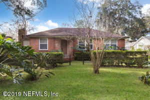 Avondale Property Photo of 1288 Azalea Dr, Jacksonville, Fl 32205 - MLS# 974167