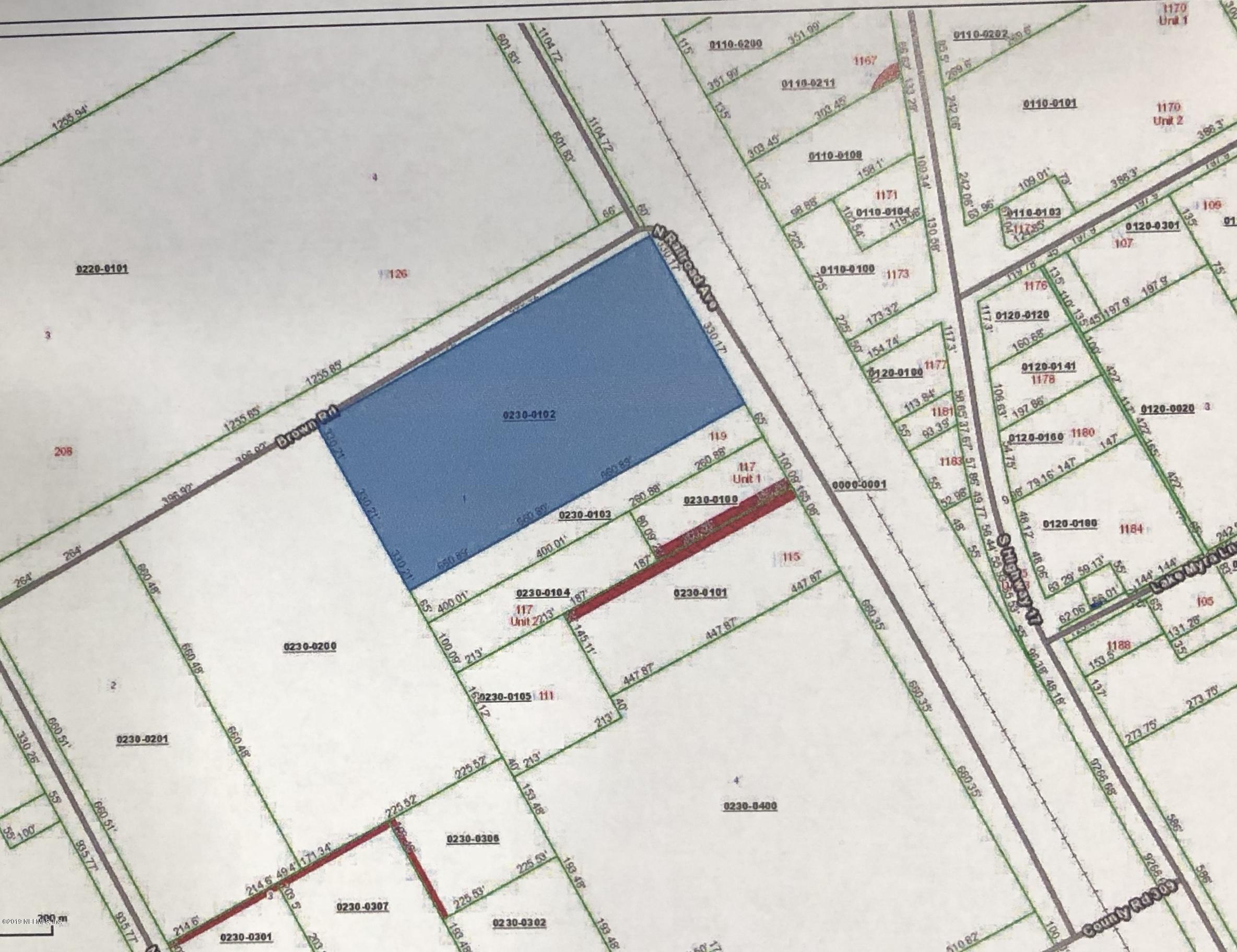 0 BROWN, SATSUMA, FLORIDA 32189, ,Vacant land,For sale,BROWN,975604