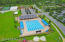 Outdoor heated pool near the Splash Park at Nocatee