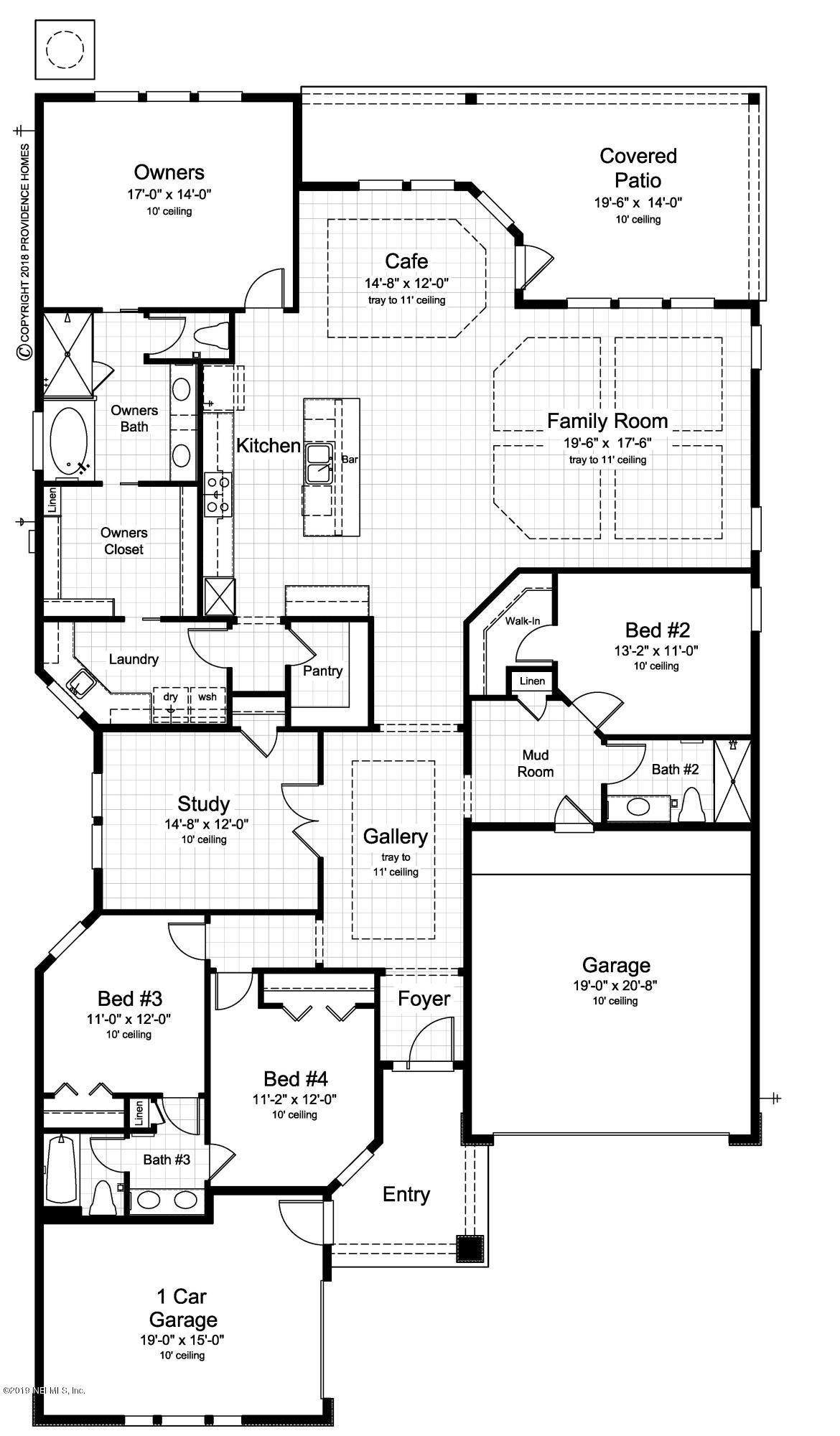 139 QUAIL VISTA, PONTE VEDRA, FLORIDA 32081, 4 Bedrooms Bedrooms, ,3 BathroomsBathrooms,Residential - single family,For sale,QUAIL VISTA,976345