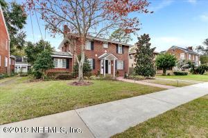 Avondale Property Photo of 1302 Windsor Pl, Jacksonville, Fl 32205 - MLS# 977190