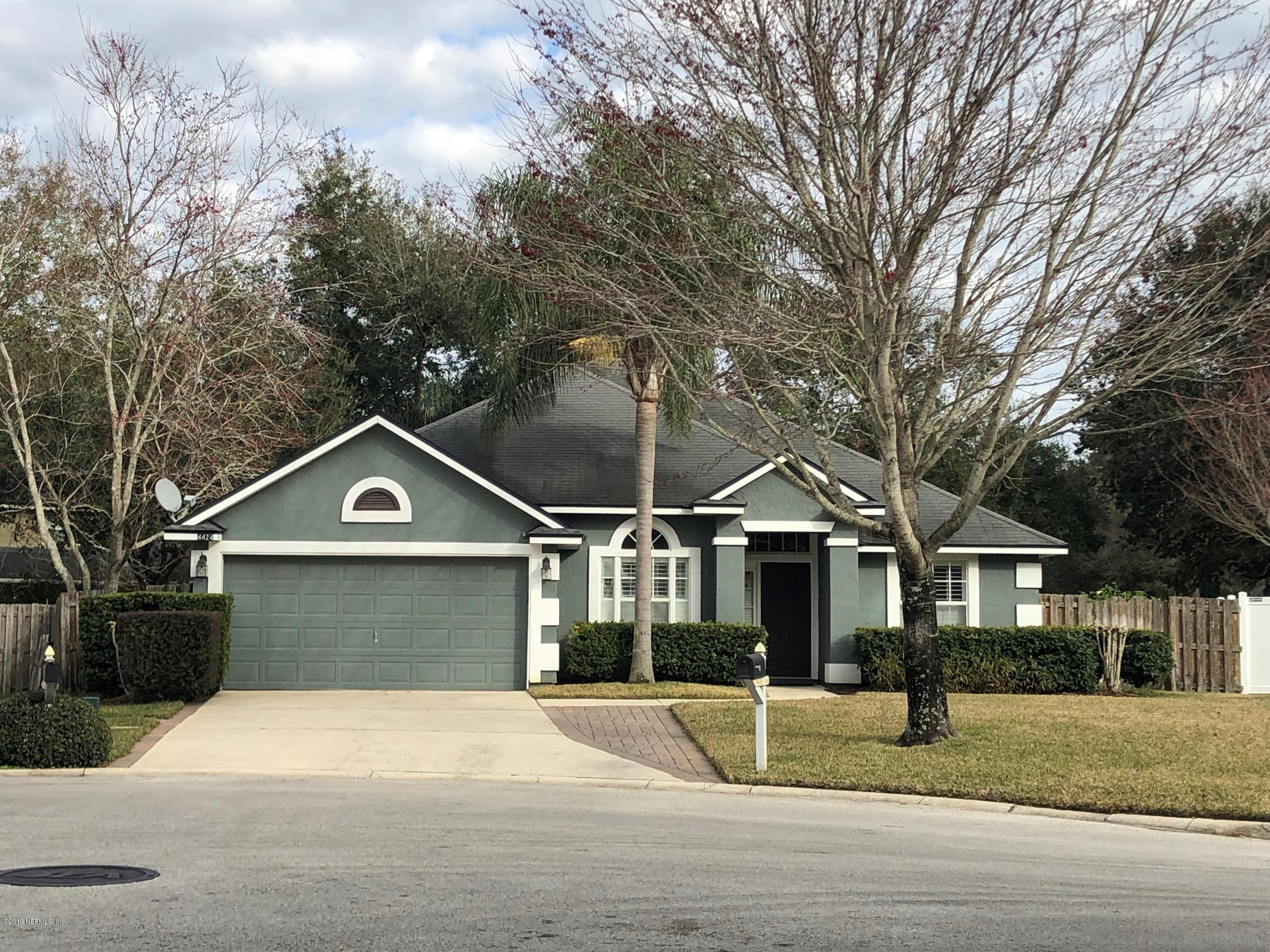 4424 PENNYCRESS, JACKSONVILLE, FLORIDA 32259, 3 Bedrooms Bedrooms, ,2 BathroomsBathrooms,Residential - single family,For sale,PENNYCRESS,977837