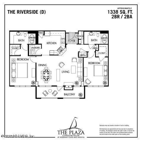 400 BAY, JACKSONVILLE, FLORIDA 32202, 2 Bedrooms Bedrooms, ,2 BathroomsBathrooms,Residential - condos/townhomes,For sale,BAY,978224