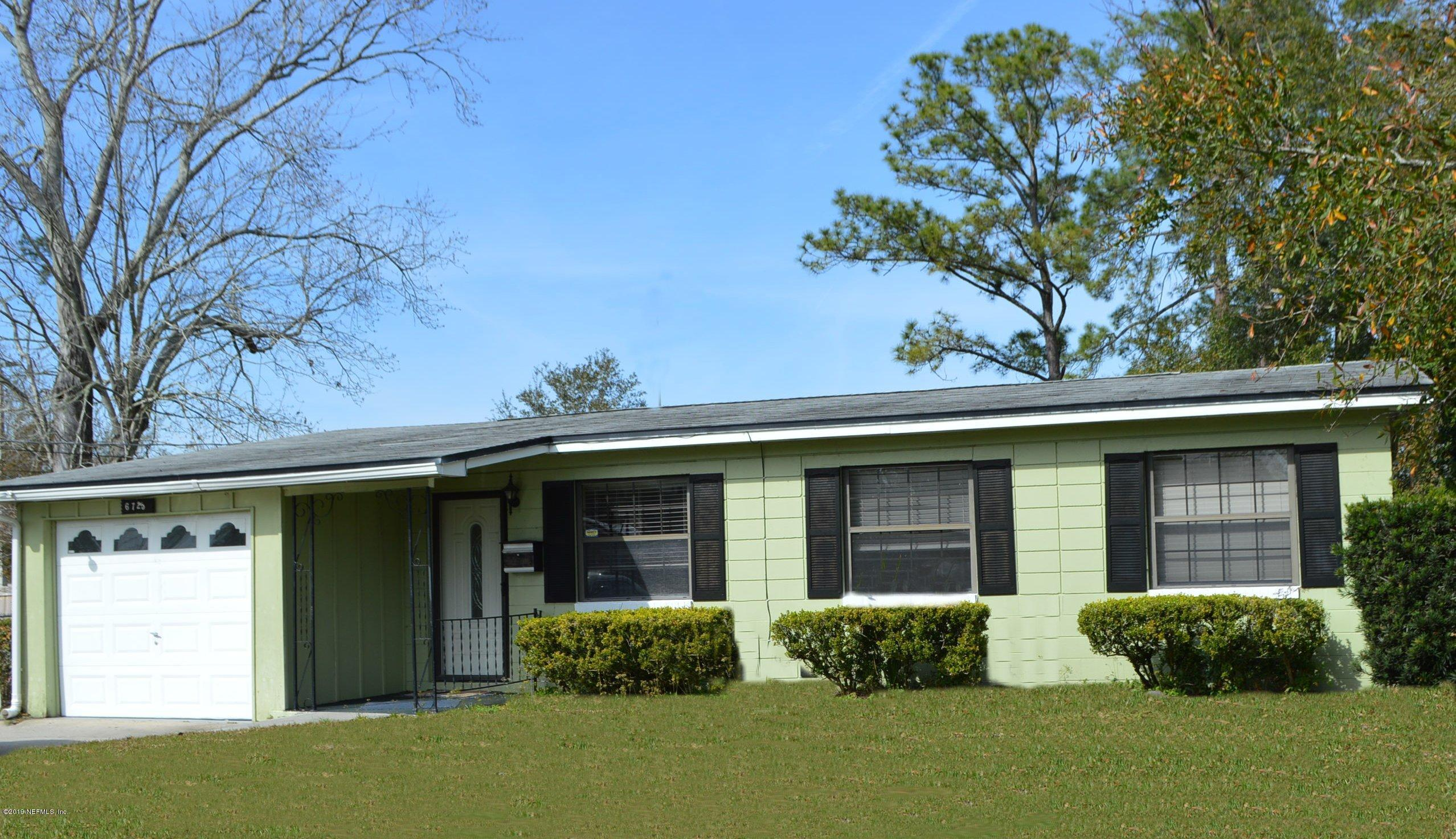 6725 WURN PARK- JACKSONVILLE- FLORIDA 32216, 3 Bedrooms Bedrooms, ,1 BathroomBathrooms,Residential - single family,For sale,WURN PARK,977540