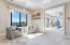 Master suite lounge between bedroom and master bath