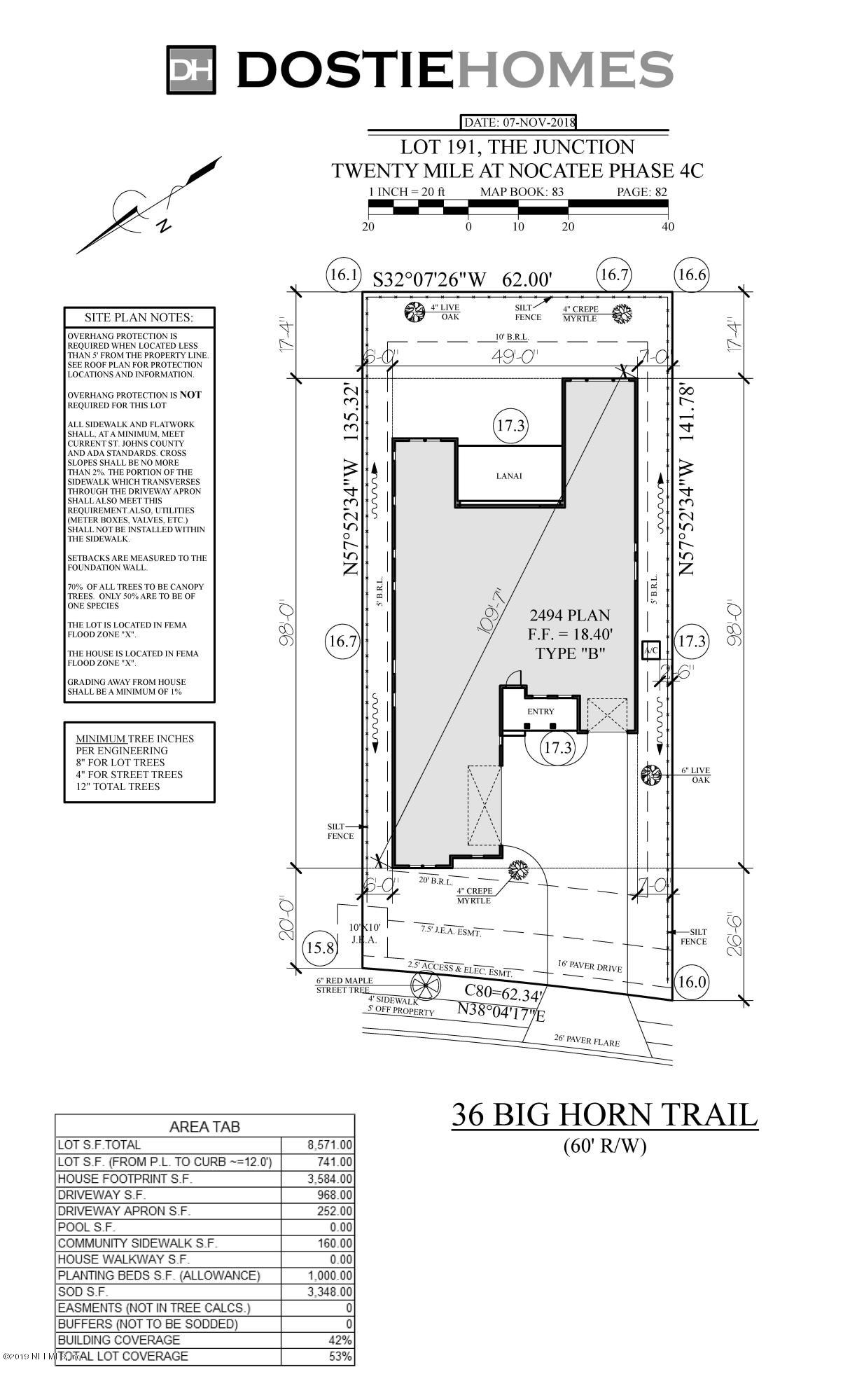 36 BIG HORN, PONTE VEDRA BEACH, FLORIDA 32081, 3 Bedrooms Bedrooms, ,2 BathroomsBathrooms,Residential - single family,For sale,BIG HORN,981682