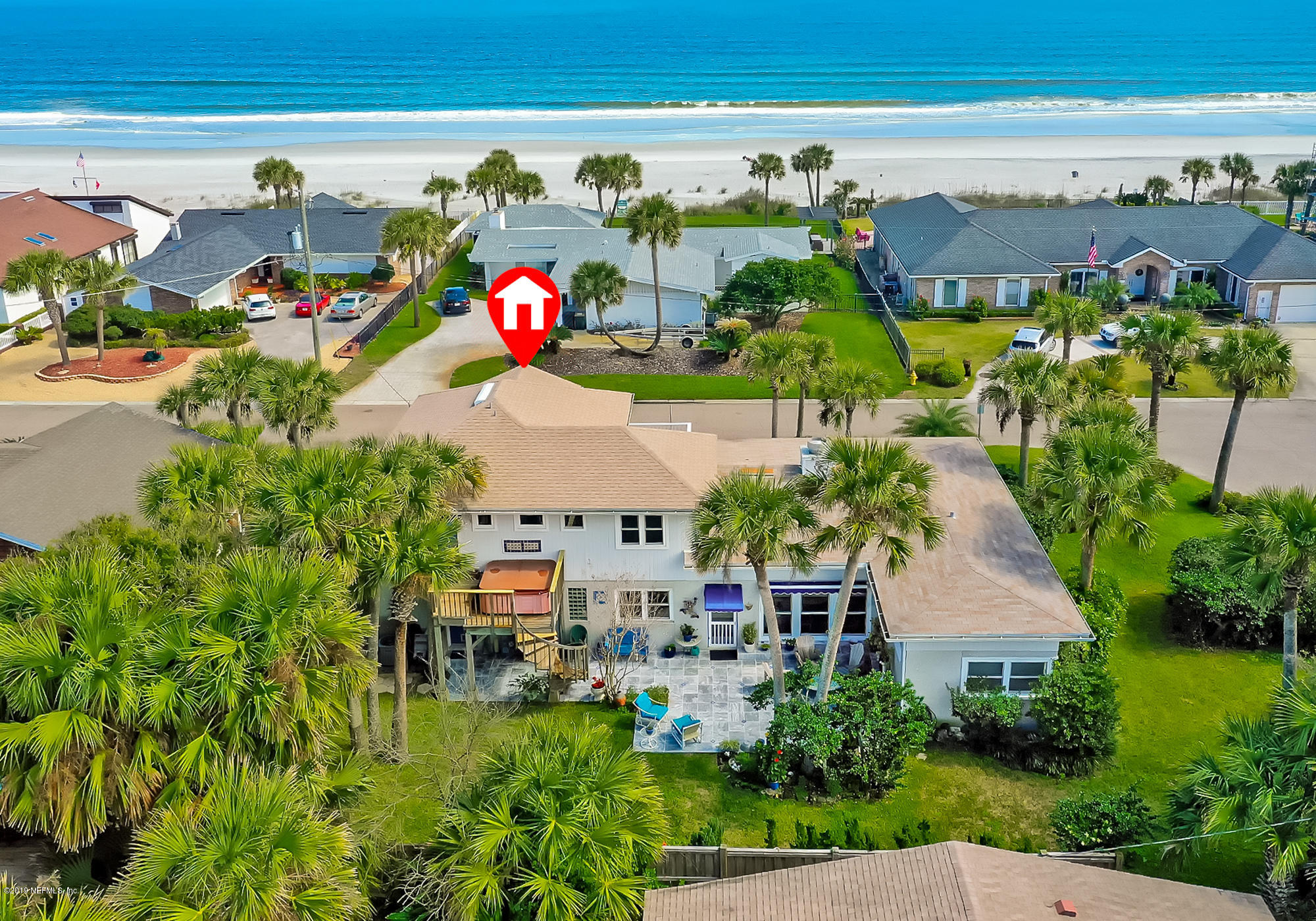 830 BEACH, ATLANTIC BEACH, FLORIDA 32233, 3 Bedrooms Bedrooms, ,3 BathroomsBathrooms,Residential - single family,For sale,BEACH,982722