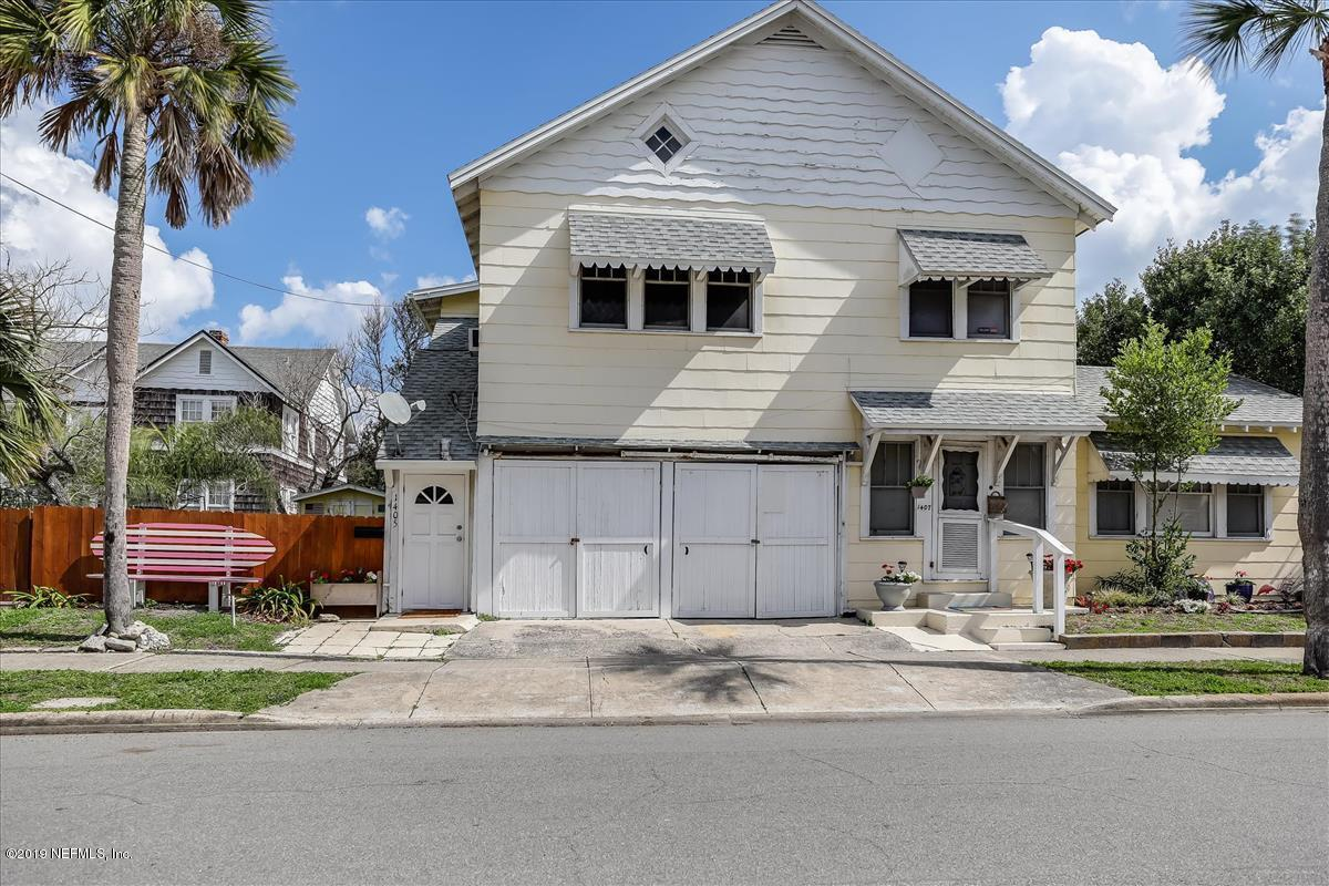 1405 1ST, NEPTUNE BEACH, FLORIDA 32266, 4 Bedrooms Bedrooms, ,2 BathroomsBathrooms,Multi family,For sale,1ST,982768