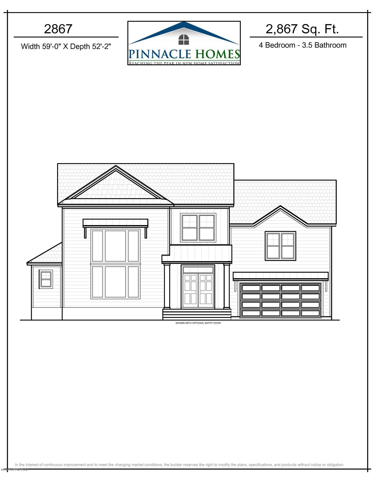 823 CEDAR BAY, JACKSONVILLE, FLORIDA 32218, 4 Bedrooms Bedrooms, ,3 BathroomsBathrooms,Residential - single family,For sale,CEDAR BAY,983757