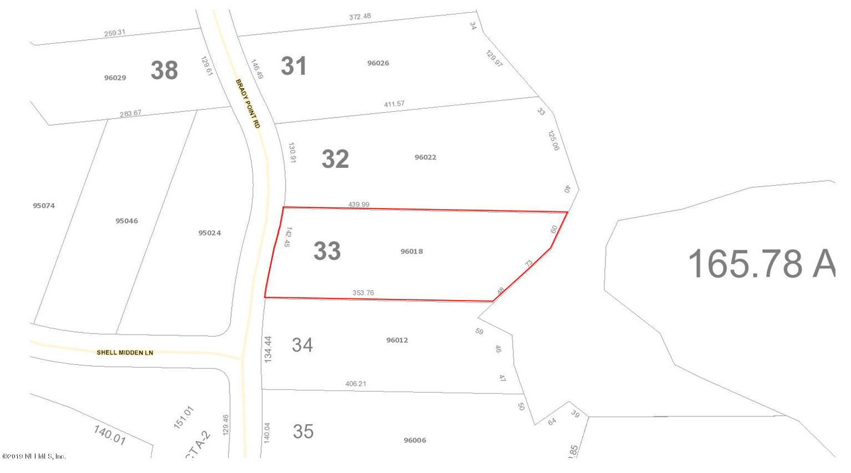 96018 BRADY POINT, FERNANDINA BEACH, FLORIDA 32034, ,Vacant land,For sale,BRADY POINT,984521