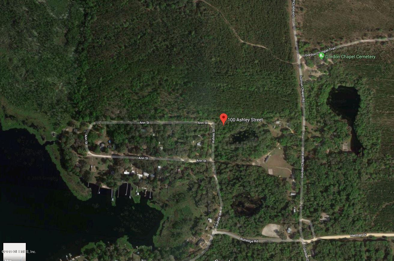 100 ASHLEY, HAWTHORNE, FLORIDA 32640, ,Vacant land,For sale,ASHLEY,984721