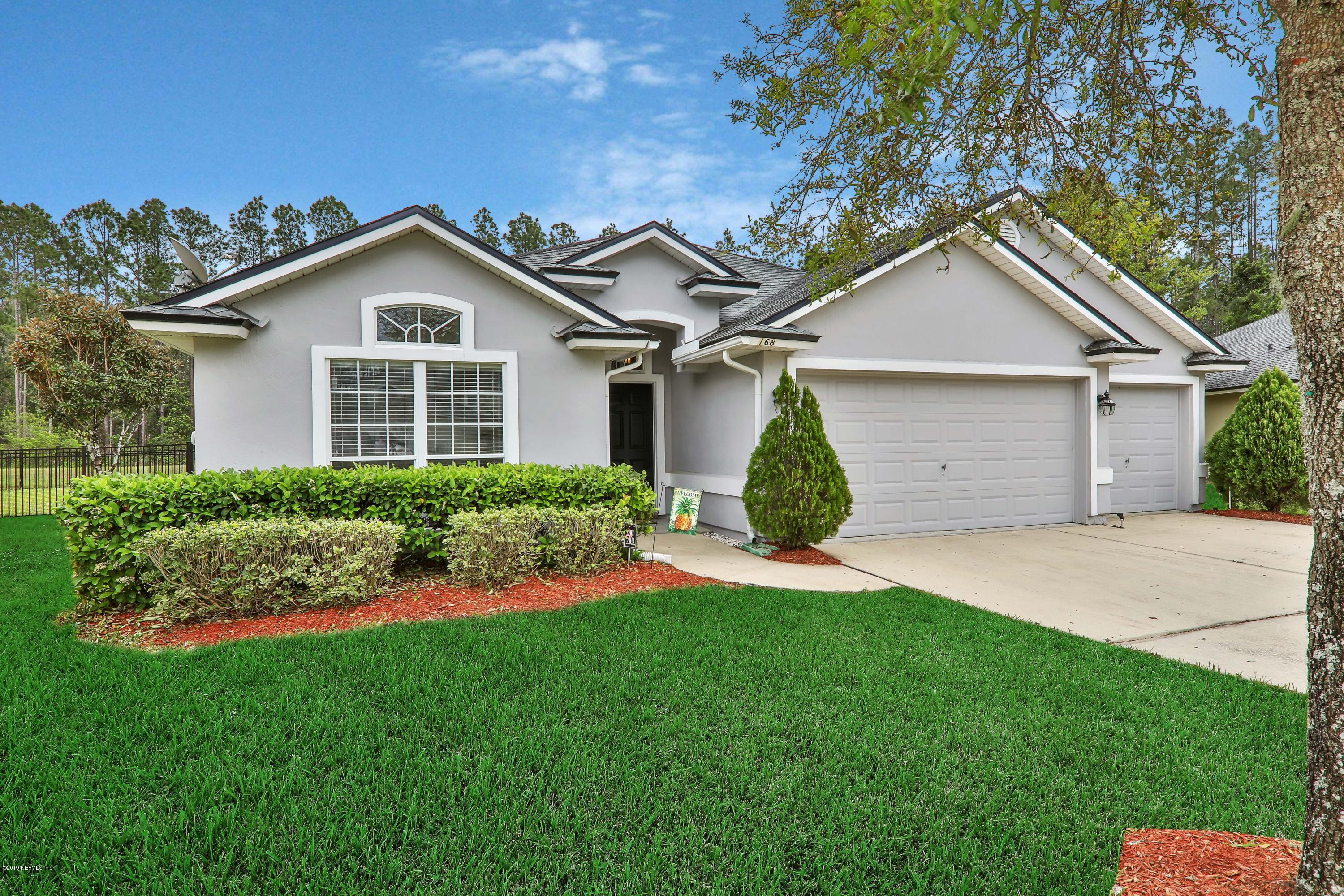 168 FLOWER OF SCOTLAND, ST JOHNS, FLORIDA 32259, 3 Bedrooms Bedrooms, ,3 BathroomsBathrooms,Residential - single family,For sale,FLOWER OF SCOTLAND,985461